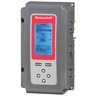 //MWSL// HONEYWELL T775P2003 BOILER CONTROL UP TO 4 STAGES W/OUTDOOR RESET MC296184