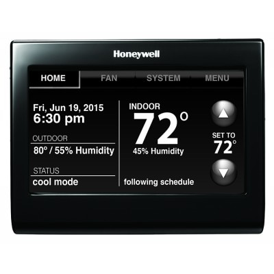 Voice Control WiFi 9000 Color Touchscreen Thermostat