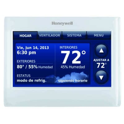 Thx9421r5021ww c2g 2 wire iaq high definition color touchscreen white frontwhite side thermostat with redlink asfbconference2016 Image collections