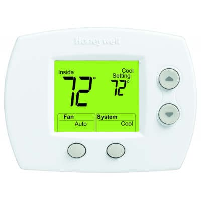 focuspro 5000 non programmable thermostat manual