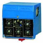 Solid State Pressuretrol® Controllers, On-off, Modulate and Limit Control, 0 psi to 15 psi