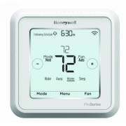 Lyric T6 Pro Wi-Fi Programmable Thermostat with stages up to 3 Heat/2 Cool Heat Pump or 2 Heat/2 Cool Conventional with Ventilation