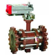 2-way Flange Actuated Control Ball Valve